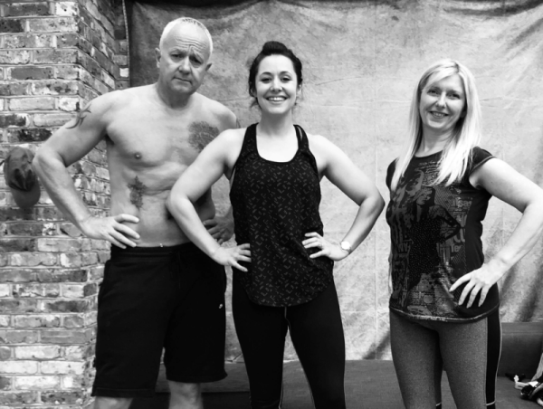 zoe livingstone and two livfit customers